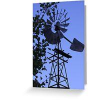 1930's Windmill! Greeting Card