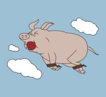 When Pigs Fly Baby Tee