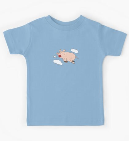 When Pigs Fly Kids Tee