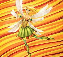 Dancing autumn fairy - By Wanderer by WanderingSumo