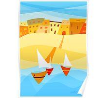 Toskani Italy Poster