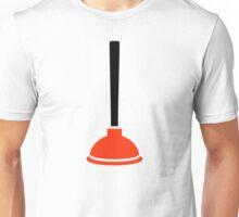 Plunger plumber Unisex T-Shirt