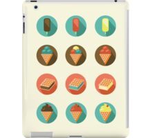 Ice-cream Icons iPad Case/Skin