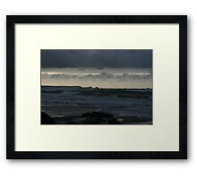 Atlantic Ocean at Twilight Framed Print