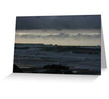 Atlantic Ocean at Twilight Greeting Card
