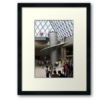 Louvre Stairway Framed Print
