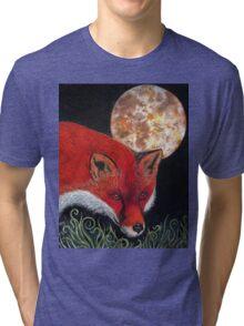Hunters moon Tri-blend T-Shirt