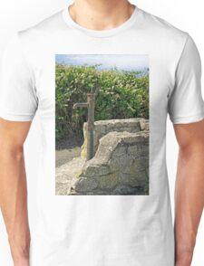 Old Water Pump at Lizard, Cornwall Unisex T-Shirt