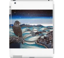 Sneaky-eyed Jack the rooftop rascal. iPad Case/Skin