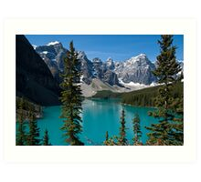 Banff National Park, Moraine Lake Art Print
