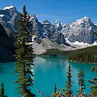 Banff National Park, Moraine Lake by Brendan Schoon
