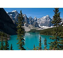 Banff National Park, Moraine Lake Photographic Print
