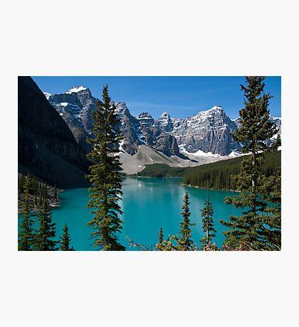 Banff National Park, Moraine Lake Photographic Print