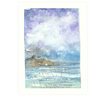 ST ANTHONY LIGHTHOUSE FROM SWANPOOL Art Print