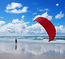 flying in the breeze by Mark Malinowski