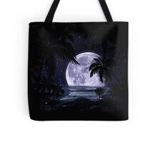 A night at the beach in paradise Tote Bag