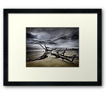 Desolate Beach Framed Print