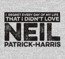 Regret Every Day - Neil Patrick-Harris by huckblade