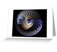 Nereus - rivers god Greeting Card