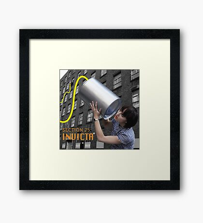 Section 25 - Invicta Framed Print
