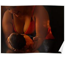 Grandmother and Child Poster