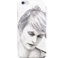 El Perro Del Mar - Sarah Assbring - Sketch iPhone Case/Skin