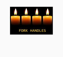 The Two Ronnies Fork Handles/Four Candles Unisex T-Shirt