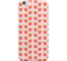 Cartoon Strawberry Case For iPhone / Samsung iPhone Case/Skin