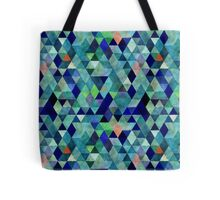 Mixed colors triangle Tote Bag