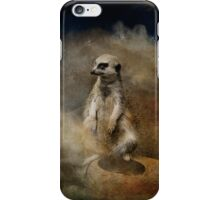 Meerkat iPhone Case/Skin