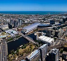 Melbourne Panorama by Joe Dailly