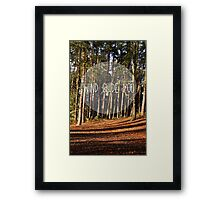 wind guide you Framed Print