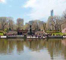 Bethesda Fountain by DoctorArt2
