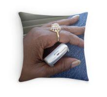 OnMyWay Throw Pillow