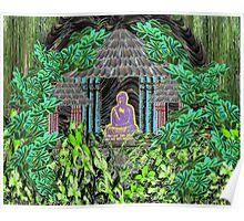 Hidden Buddha Poster