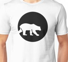 Polar bear moon Unisex T-Shirt