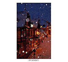 Pixel Art Cities: Dresden Photographic Print