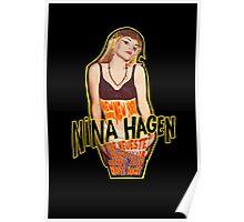 Nina Hagen - New York NY Poster