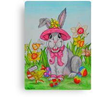 The Easter Bunny Canvas Print
