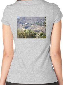 BOB HOPE HOUSE PALM SPRINGS Women's Fitted Scoop T-Shirt