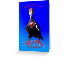 WOODPECKER Valentine's Day Gifts Greeting Card