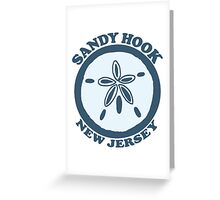 Sandy Hook -  New Jersey. Greeting Card
