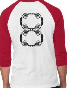 8 Guns Men's Baseball ¾ T-Shirt