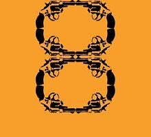 8 Guns Unisex T-Shirt