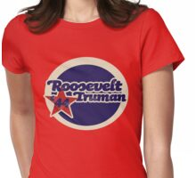 Roosevelt Truman Womens Fitted T-Shirt