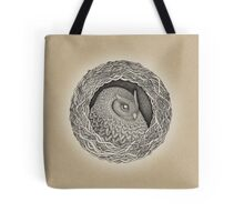 Owl ink illustration Tote Bag