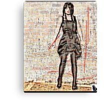 TEENAGE HUSTLING Canvas Print