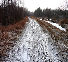 A Straight Stretch of Road by MaeBelle