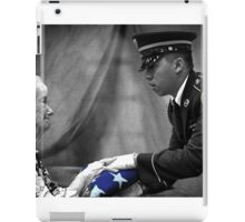 Courtesy Red White And Blue iPad Case/Skin