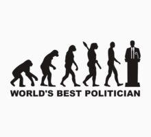 Evolution World's Best Politician Kids Clothes